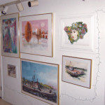 Original Paintings and Framed Sculpture