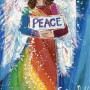 Rainbow Peace Angel