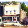 Horton Bay General Store - Watercolor by Russ Bolt
