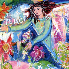 Peace in the Garden Angel