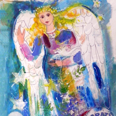 Summer Celebrate Peace Angel