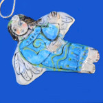 Angels Have Wings Ornament by Sue Bolt