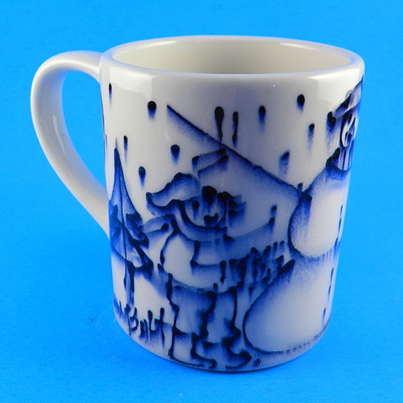 Baby It's Cold Outside Mug by Sue Bolt