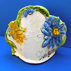 Big Blooms Tapawingo Vase by Sue Bolt