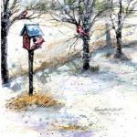 Cardinal Winter