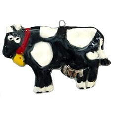 Moo Cow! - Ornament by Sue Bolt