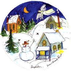 December - Circle Painting