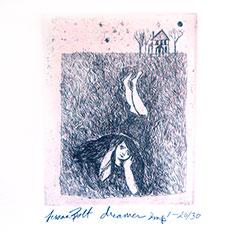 Dreamer - Etching by Sue Bolt