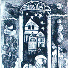 Dreamland II - Etching