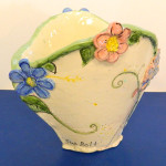 Flowers for My Cottage Large Fan Vase by Sue Bolt