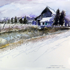Watercolor Painting by Russ Bolt