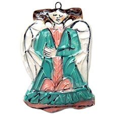 Lori's Christmas Angel - Ornament by Sue Bolt