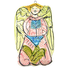 Margie's Christmas Angel Ornament by Sue Bolt