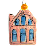My House Ornament by Sue Bolt