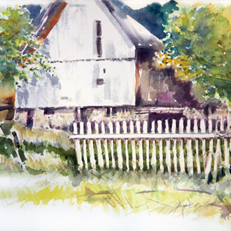 Picket Fence Barn