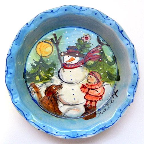 Snowman & Sam's Day Off