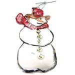 Snowman Ornament by Sue Bolt