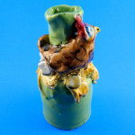 Spring Chickie Candle Holder by Sue Bolt