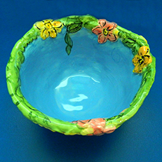 Summer Will Come Sculptural Bowl by Sue Bolt