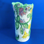 Summers Bounty Free-Form Vase by Sue Bolt