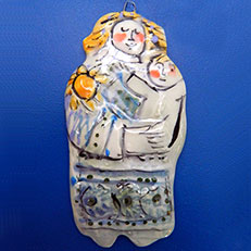 Ceramic Ornament by Sue Bolt