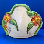 Sweet Sweet Flowers Tapawingo Vase by Sue Bolt