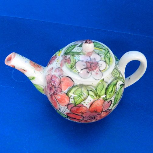 Tea in the Garden Teapot and Cup Set by Sue Bolt