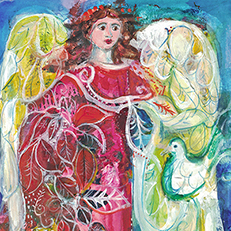 Wings Original Painting by Sue Bolt