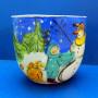 Winter Fun Ceramic Bowl by Sue Bolt